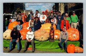 Circleville OH-Ohio, Circleville Annual Giant Pumpkin Show Chrome Postcard