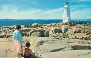 Canada, Peggy's Cove Lighthouse, Nova Scotia, unused Post...