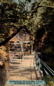 New York Watkins Glen Entrance To Lover's Lane