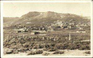 Bodie CA Birdseye View Frasher's Real Photo Postcard