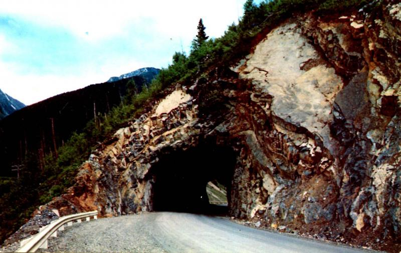 Canada - BC, Tunnel between Fernie and Elko