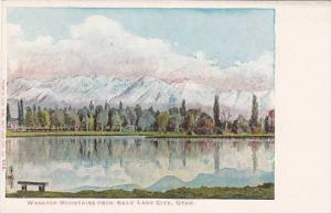 Wasatch Mountains from Salt Lake City, Utah, 00-10s