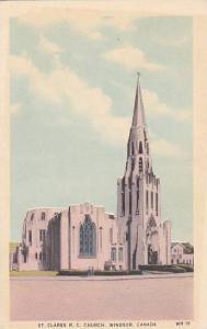 St. Clares R.C. Church, Windsor, Ontario, Canada, 10-20s