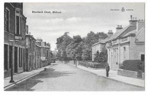 UK Scotland Buccleuch Street Melrose Reliable Series Postcar