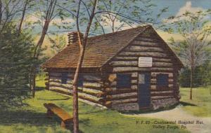 Continental Hospital Hut Valley Forge Pennsylvania