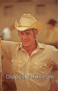 Steve McQueen Movie Actor / Actress, Entertainment Postcard Post Card Actor A...