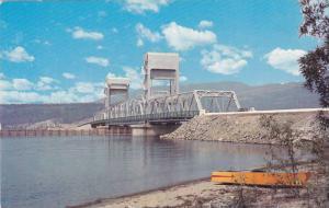 Okanagan Lake Bridge , B.C. , Canada , PU-1968