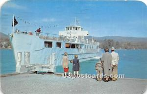 MV Ticonderoga Lake George Village NY 1952