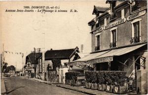 CPA  Domont - Avenue Jean-Jaures - Le Passage á Niveau  (380537)