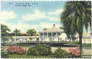 Mt Vernon Inn, Winter Park, Florida, 30-40s