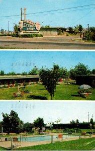 Indiana Evansville The Skyway Court 1960