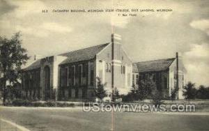 Michigan State College Lansing MI Unused