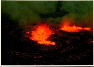 Hawaii Halemaumau Volcano Eruption Of 1967