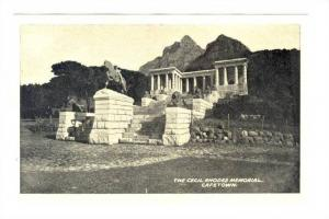Cape Town, South Africa, 30-40s ; TheCecil Rhodes Memorial
