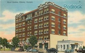 GA, Albany, Georgia, Hotel Gordon, Wall News No. 77406