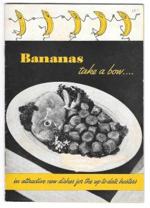 Meloripe Recipe Booklet Bananas Take a Bow Illustrated