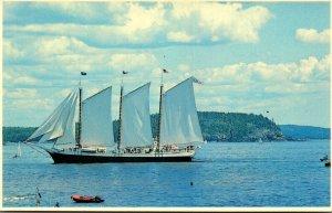 Maine Bar Harbor Frenchman's Bay Windjammer Cruises