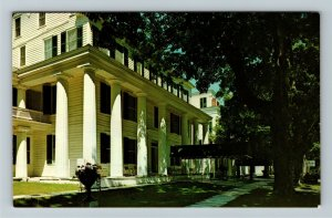 Manchester-In-The-Mountains VT-Vermont Equinox House Advertising Chrome Postcard