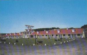 Pennsylvania Bedford Crinoline Courts Motel