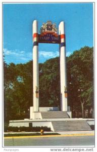 Tulpen Toren,, Tulip Tower, Pella ,Iowa, IA , Chrome
