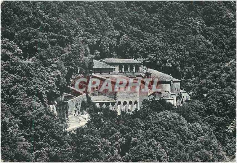 Modern Postcard Assisi Hermitage of Prisons (791 m) Overview