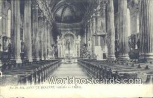 Ste Anne de Beaupre, France, Carte, Postcard Interieur de I'Eglise Ste Anne d...