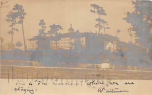 C30/ Pnehurst North Carolina NC Postcard c1910 The Carolina Hotel RPPC