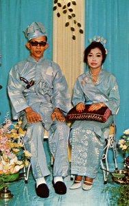 Malay Wedding, Bride and Groom