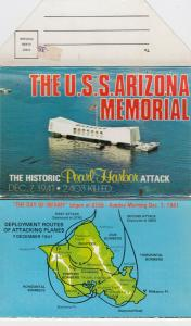 U.S.S. ARIZONA Memorial , Hawaii , 50-60s ; Pearl Harbor