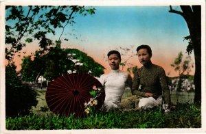 CPA AK INDOCHINA Saigon Jeunes filles vietnamiennes VIETNAM (956825)