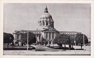 California San Franicisco City Hall