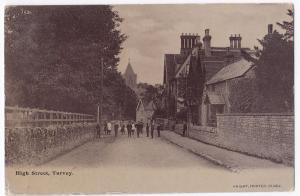 Bedfordshire, Turvey High St PPC, Brailsford 1905 PMK, By Knight Frinter