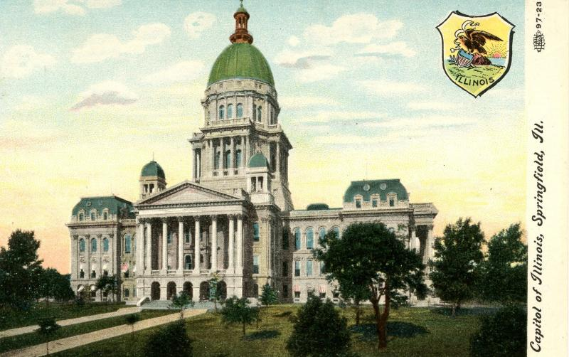 IL - Springfield. State Capitol