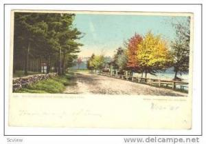 Boulevard and Boat House,Whalom Park,Massachusetts,1905