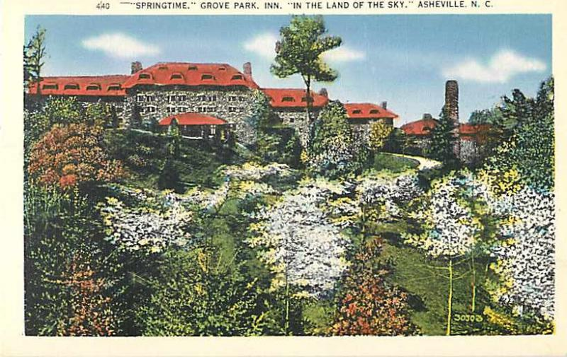 Springtime at Grove Park Inn, Asheville, North Carolina, NC, Linen