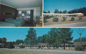 3-views,  Piedmont Motel,  Intersate 85 and Hwy 29 & 70,  Lexington,   North ...
