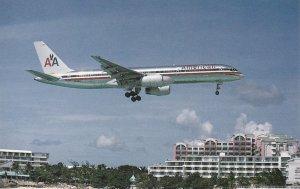 Naetherland Antilles St Maarten American Airlines Boeing B-757-223 sk7239