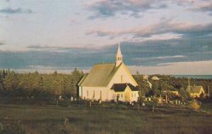 Fishing Village Church Marine Highway Route 7 Nova Scotia Canada Postcard