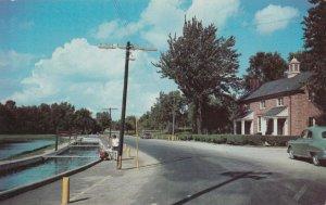 LAKE WAWASEE , Indiana , 1950-60s ; State Fish Hatchery