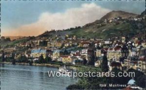 Montreux Swizerland, Schweiz, Svizzera, Suisse