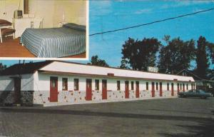 2 Views, Motel Ideal, Laval, Quebec, Canada, PU-1974