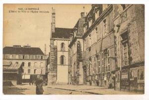 L'Hotel De Ville et 'Eglise Ste-Croix, Quimperle (Finistère), France, 1900-1...