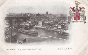 NEWCASTLE-ON-TYNE, England, 1900-1910s; General View