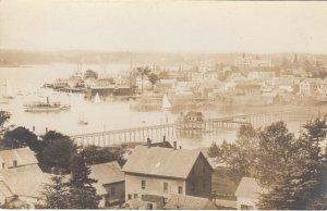 RP; BOOTHBAY HARBOR , Maine , 1900-10s ; Bird's Eye View #5
