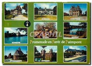 Modern Postcard Paimpont Ille et Vilaine