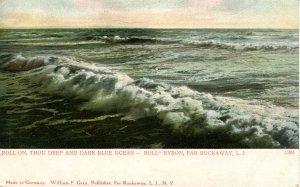 NY - Far Rockaway, Long Island. The Ocean