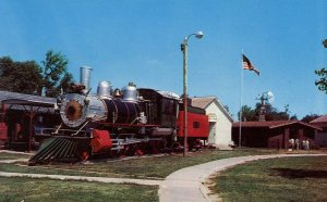 NE - Minden. Pioneer Village. 1889 Baldwin Locomotive