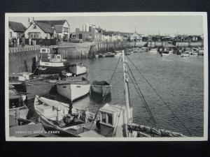 Devon Exmouth Quai & Bac - Ancienne Carte Postale par E. T. W.Dennis