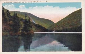 Echo Lake Franconia Notch White Mountains New Hampshire