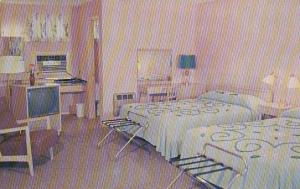 1950's Motel Room Interior  Home Ranch Motel Harrisburg Pa